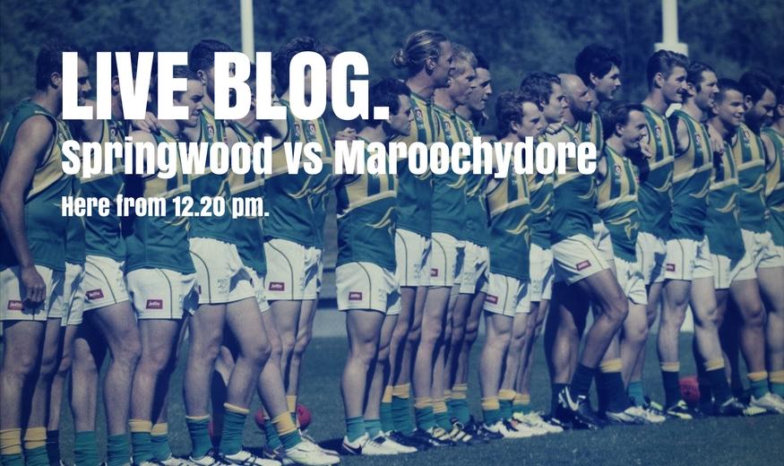Springwood vs Maroochydore