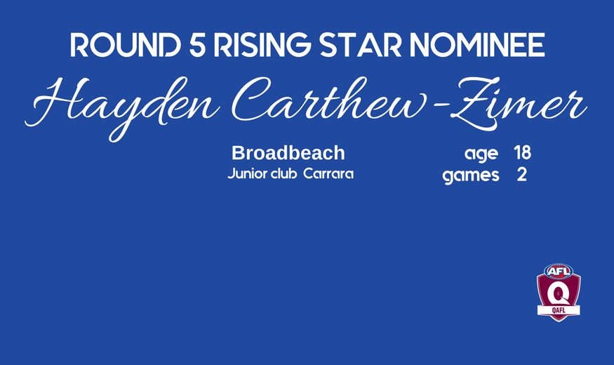 Copy of Rising Star - Campbell Wearne