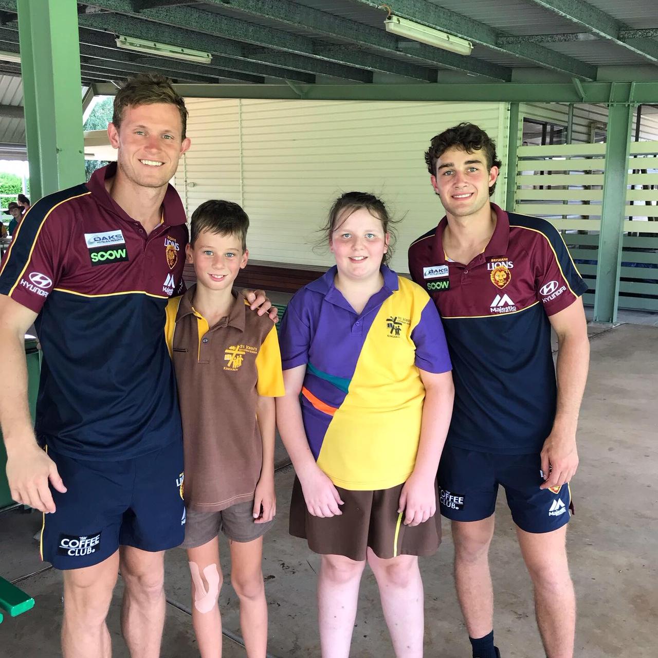 Brisbane Lions 2019 AFL Community Camp Gallery: Day 1