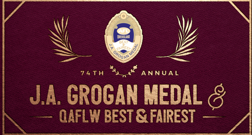 J A Grogan Medal and QAFLW Best and Fairest: Club by Club Votes